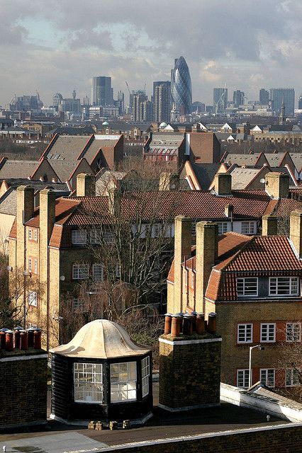 View Towards London Town