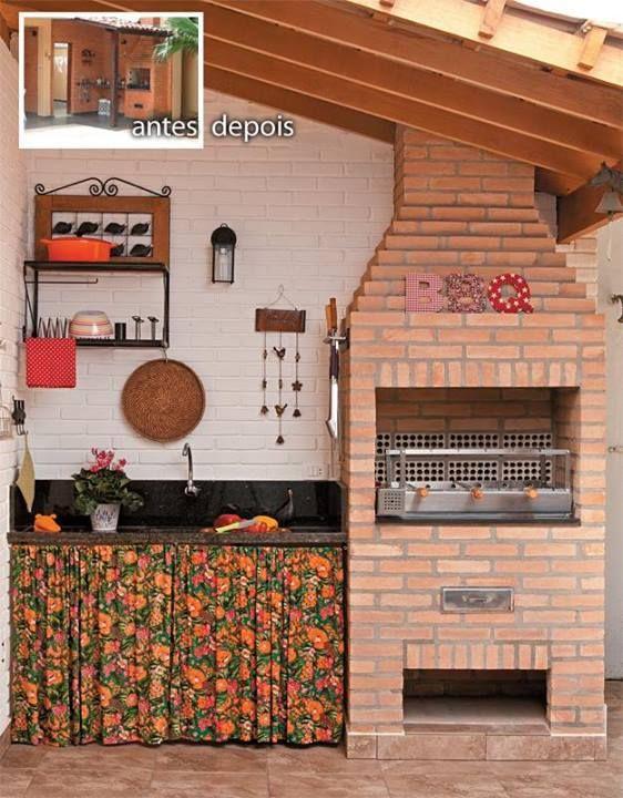 decoracao de apartamentos pequenos rustico : decoracao de apartamentos pequenos rustico:Decoração / Varanda / Quintal / Terraço / Churrasqueira / Simples