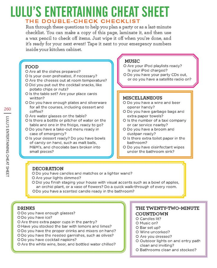 306 best party checklists images on Pinterest Events, Birthday - birthday party checklist template