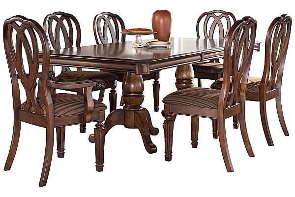 The Hamlyn Extension Dining Table from Ashley Furniture  : 5db303b58c4b844e48a7cdd2502f29e0 from www.pinterest.com size 600 x 400 jpeg 52kB