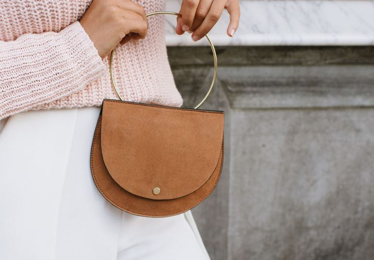 DIY Ring Handle Bag