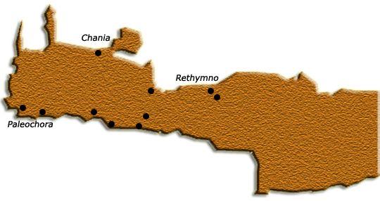 Fottur på Kreta - Rundtur fra Agia Marina