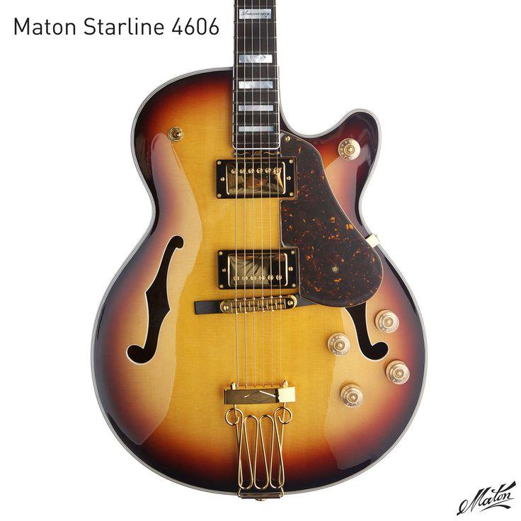 Vintage maton guitars think, that