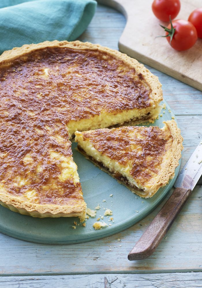 Love a cheese and pickle sandwich - this tart is for you! Class up the classic in Nadiya's Ploughman's tart.