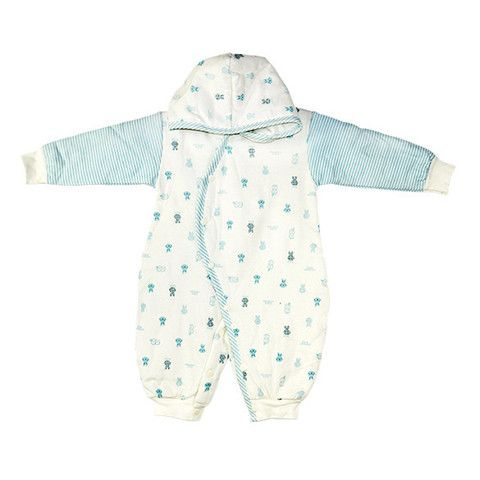 Baby Snowsuit Soft Hooded Romper Sleepsuit 6M-12M 3 Colors $24.99 CAD