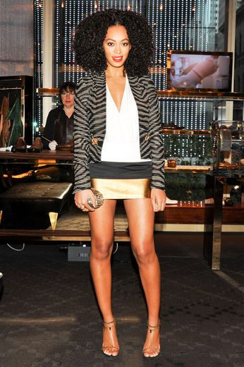Solange Knowles. When its comes to style, she does no wrong in my opinion.