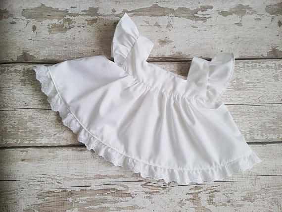 Check out this item in my Etsy shop https://www.etsy.com/uk/listing/537443905/baby-pinny-dress-baby-smock-baby-vintage