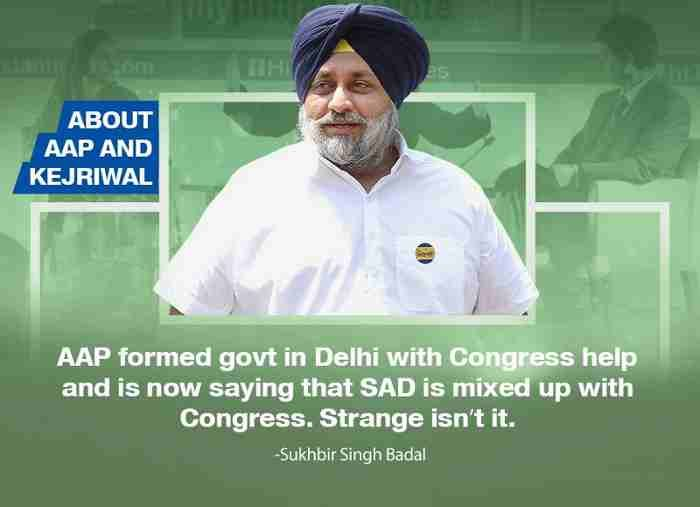 Aam Aadmi Party Trying to Befool Punjabis: Sukhbir Badal