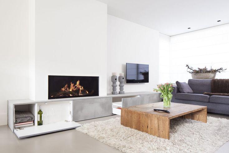 Grezzo - Een twist aan een moderne openhaard - Hoog ■ Exclusieve woon- en tuin inspiratie.
