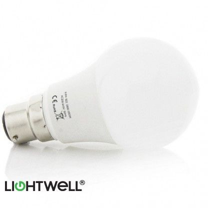 This G60 bulb is designed to make the switch-over to LED as trouble free as possible. Perfect to replace any of your existing Bayonet Cap lamps, this bulb will fit in the majority of B22 fitting types. They are manufactured using the highest quality materials and come fitted with Epistar 3528 surface mounted diodes (SMD). Using only 8.6 watts, this bulb will produce 650 lumens, the equivalent of an 60 watt old style incandescent bulb.