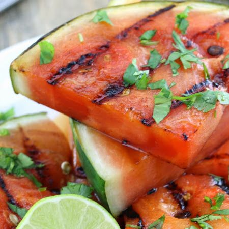 ... this #watermelon! Try this #tequila soaked grilled watermelon recipe