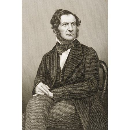 William Ewart Gladstone1809-1898 English Chancellor Of The Exchequer Statesman And Four-Time Prime Minister Of Great Britain (1868-74 1880-85 1886 1892-94)Engraved By DJPound From A Photograph By Maya