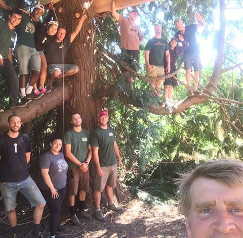 images of treehouse masters crew google search