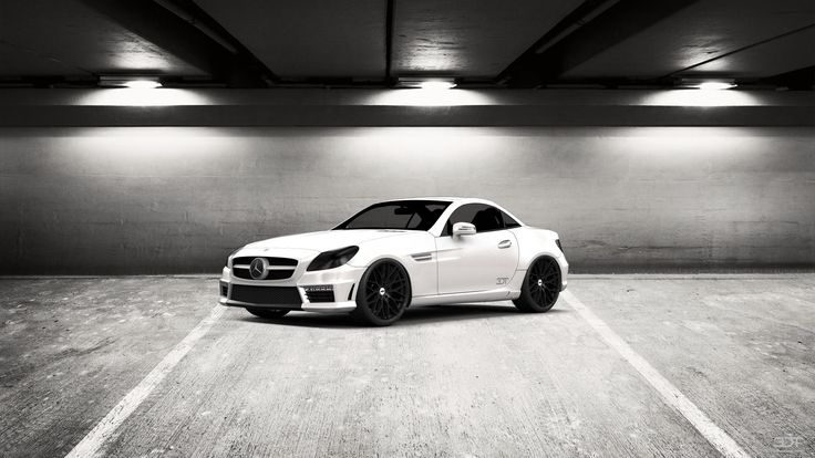 Checkout my tuning #Mercedes #SLKclass 2012 at 3DTuning #3dtuning #tuning