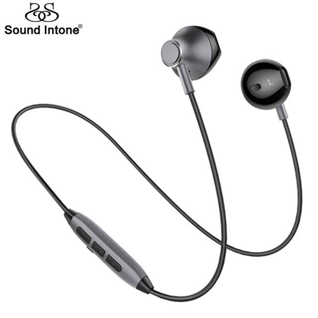 Sound Intone H2 Bluetooth Headphones Sports Waterproof Wireless Earphones Bass Hifi Earpieces Wit Headphones Bluetooth Headphones Waterproof Wireless Earphones