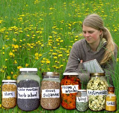Cedar Mountain Herb School: Medicinal Herb Recipes and Articles. A wonderful resource for herbal knowledge.