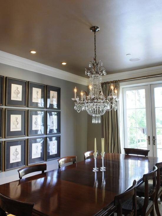 10 best images about tray ceilings on pinterest master for Painting rooms with angled ceilings