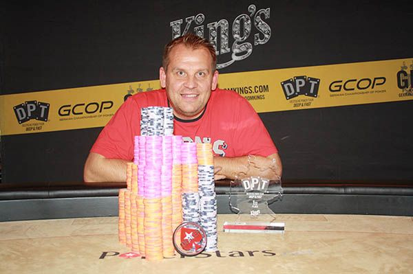 Tomáš Brož from the Czech Republic, the winner of the Deutsche Poker Tour Main Event at King's Casino.  #Poker #DPT #DeutschePokerTour #Kings #Casino #Rozvadov #JensKnossalla