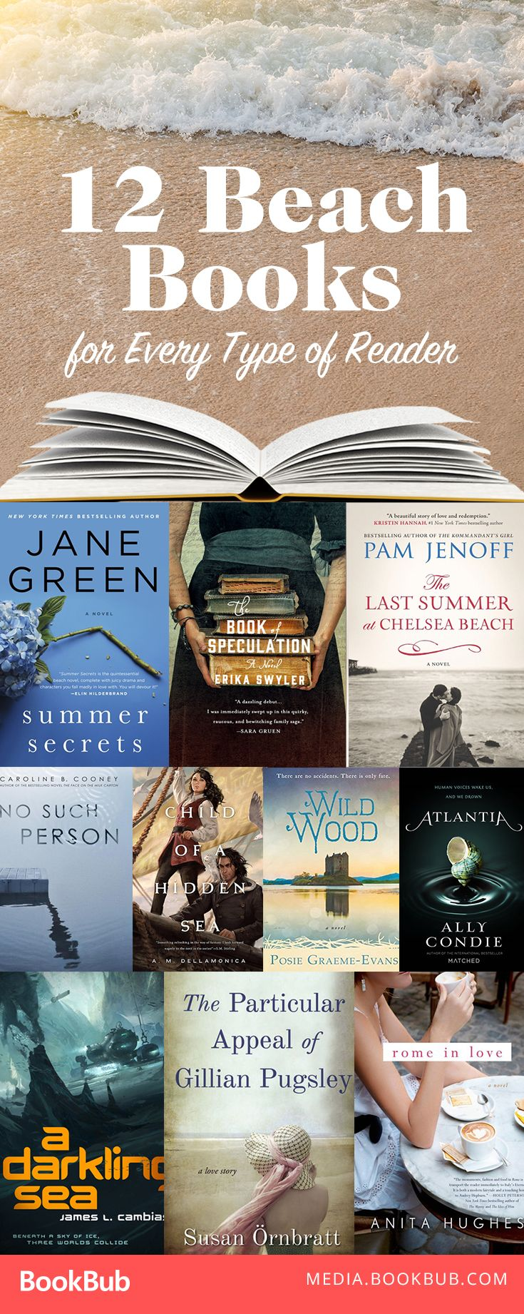 12 Beach Reads To Satisfy Every Type Of Reader