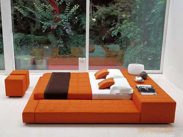 Экзотическая двуспальная кровать-подиум Cuba 180х200 сделает Вашу жизнь…