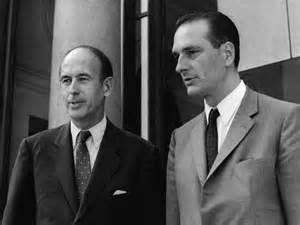 Giscard et Chirac