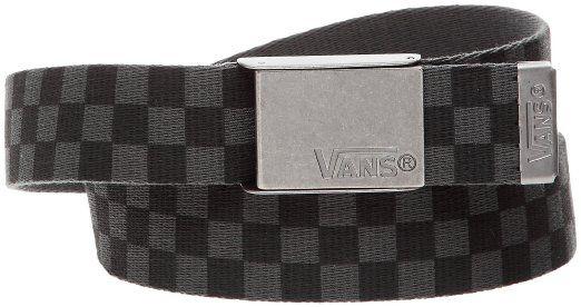 Vans, Cintura Uomo Deppster Web Cintura, Nero (black/charcoal), Taglia unica: Amazon.it: Sport e tempo libero