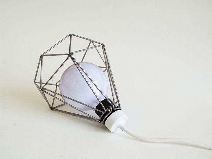 Cage lamps are evolving. Very nice: Brilliant Cut, Diamonds, Cage Lamps, Object, Louie Rigano, Louierigano