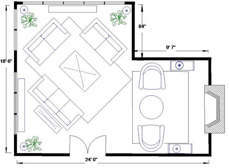 27 best L shaped living room images on Pinterest | Living ...