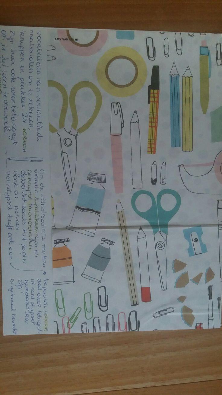 ICOON 1 | tekenen, knippen, plakken, schrijven, schilderen