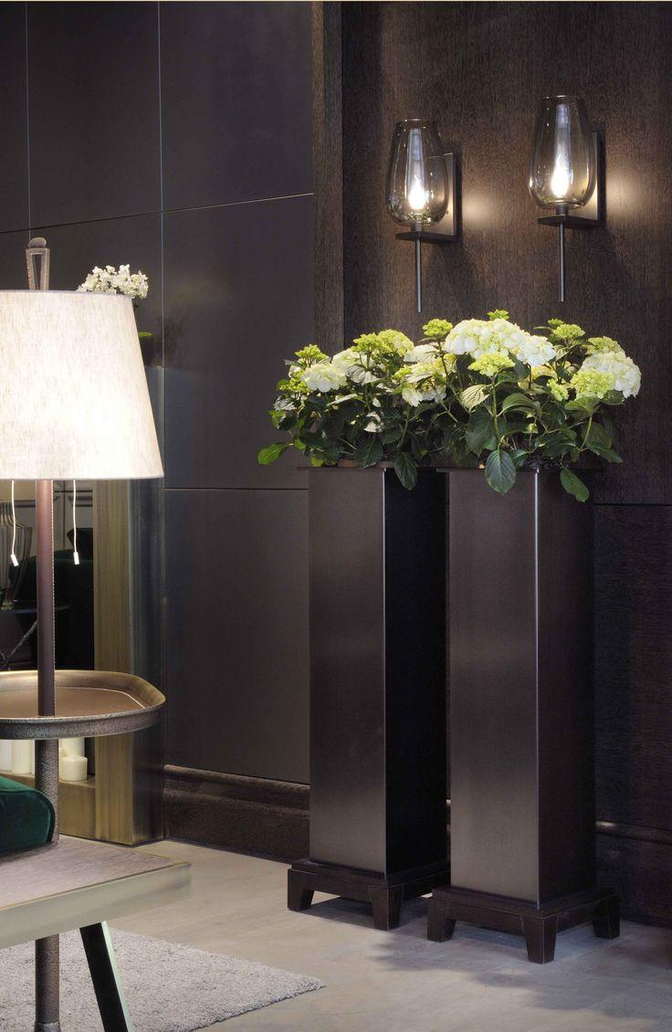 Narciso planter, Bellavista Collection. #interiordesign #casegoodsideas moder home decor, interior design ideas, casegood inspirations. See more at http://www.brabbu.com/en/inspiration-and-ideas/category/trends/interior