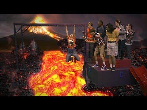 ▶ The Ground Is Lava! - Studio C - YouTube  HILARIOUS!!!