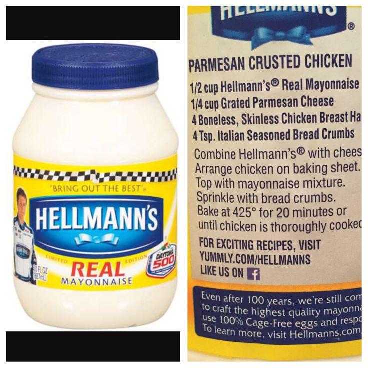 Hellman's Parmesan Crusted Chicken