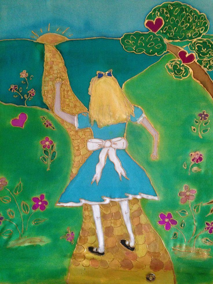 Little Alice heads off on an adventure