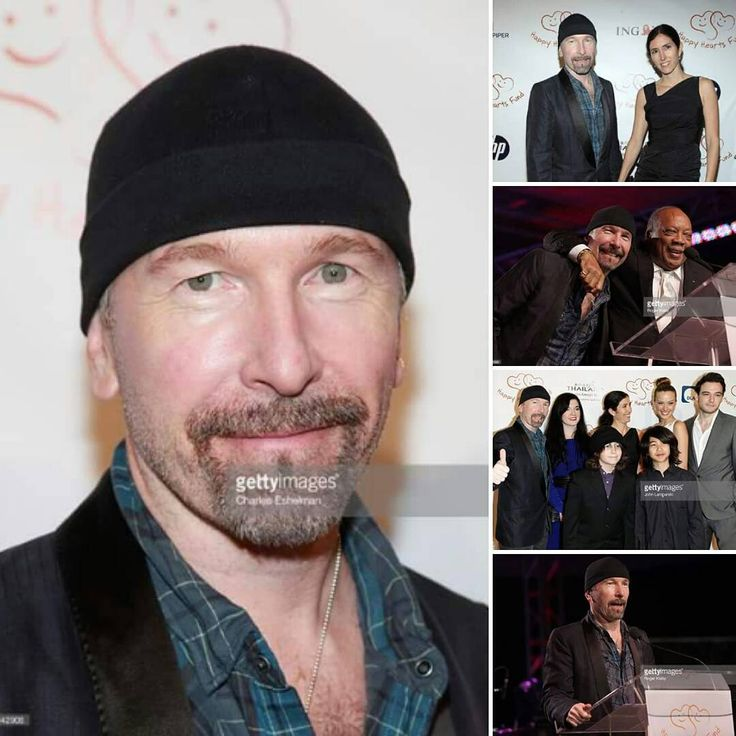 20.11.2010 Metropolitan Pavilion, New York City, NY. #TheEdge participa do Happy Hearts Fund Land of Dreams: Thailand. #U2 #TheEdge