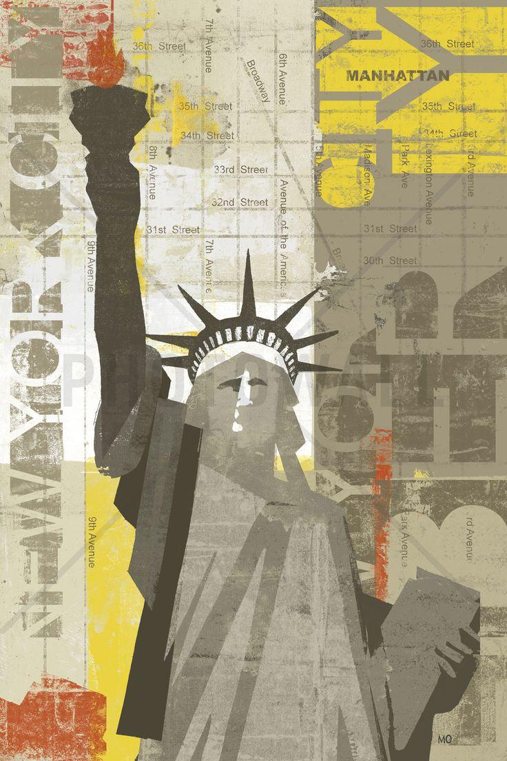 Liberty - Fototapeter & Tapeter - Photowall
