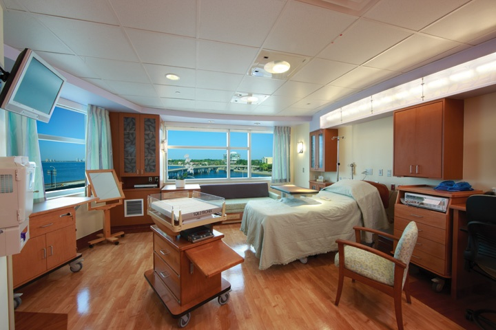 Tgh Women S Center Labor And Delivery Suite Designed To