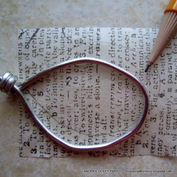 Tutorials: Tissue Paper Pendants