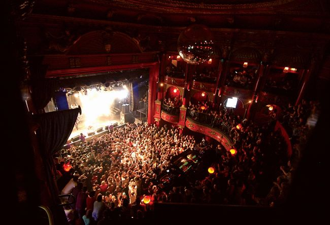 Koko Club, London, located inside an impressive theater building, it's one of the largest & most popular nightclubs.