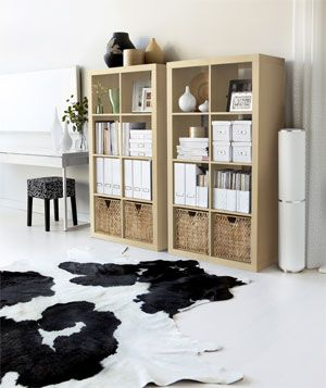 Do you think I have a thing for cowhide rugs? #styledby