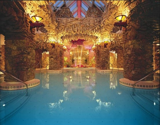Indoor pool grotte  63 best Grotto and Pools images on Pinterest | Dream pools, House ...
