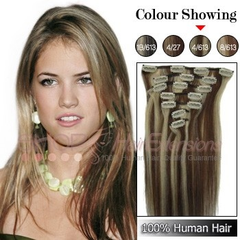 22 best clip in hair extensions images on pinterest hair style 26 inch clip in grade aaa remy hair extensions straight quick overview item code length 26 inch color hair material remy hair grade remy hair pmusecretfo Images