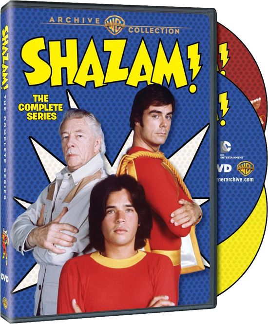 Shazam! - Release Date, Packaging and Cost Announced for 'The Complete Series' I watched this!!