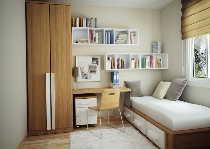 Interior Design Style: Modern/Mid Century Bedroom ✦ Characteristics:  Geometric Shapes; Part 78
