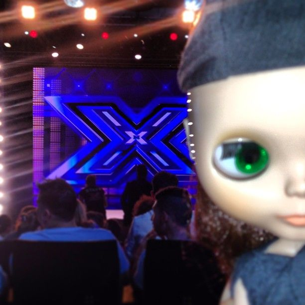 Goo Blythe as a guest in New Italian X-Factor Show 2013! So amazing! Photo by pil_associati
