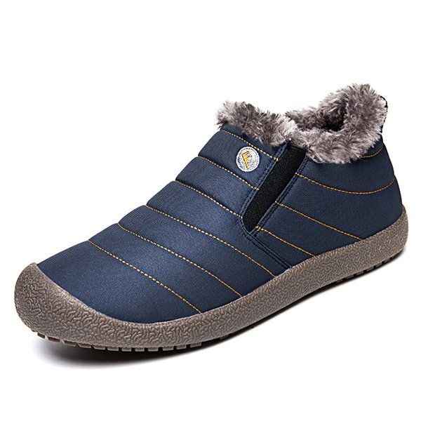 men large size plush lining snow boots  men large size plush lining snow boots  #men's shoes