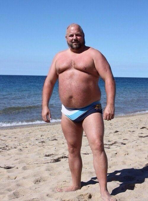 Fat man bear