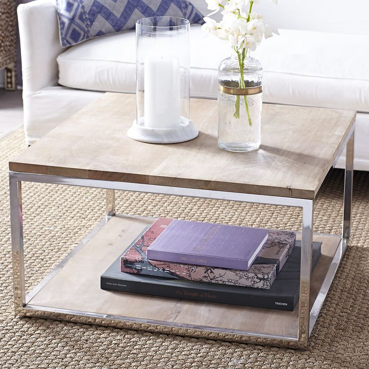 geometric coffee table from wisteria