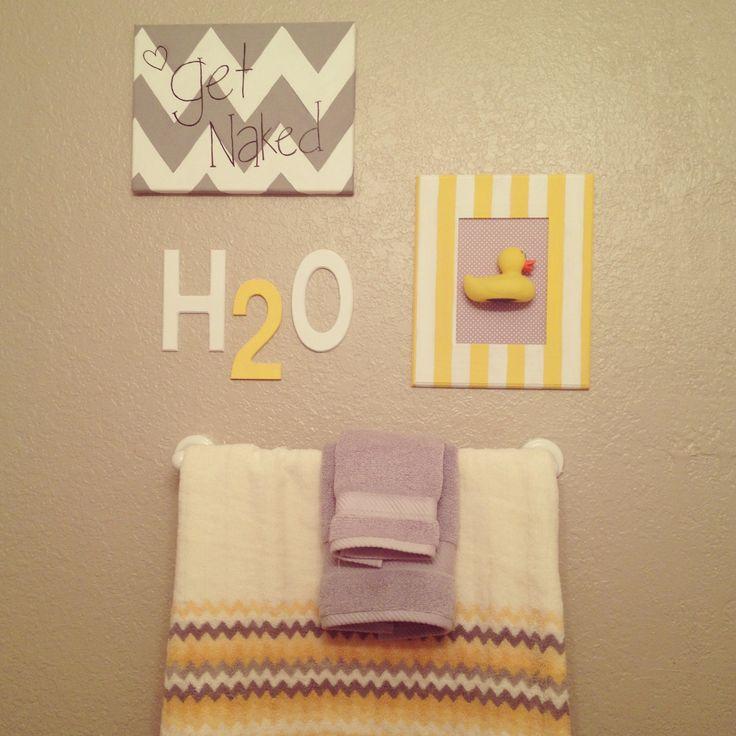 8 best yellow bathroom ideas images on pinterest for Yellow bathroom decor pinterest