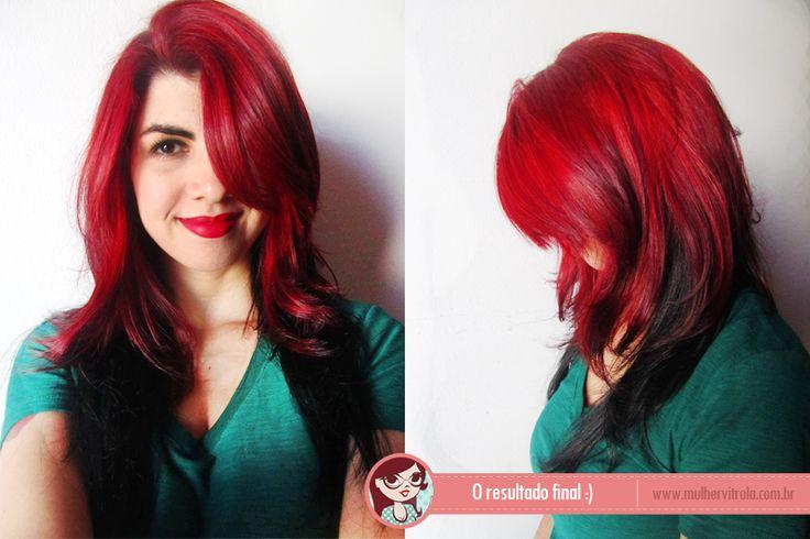 Pintando o cabelo de duas cores – a mudança do ano! | Mulher Vitrola