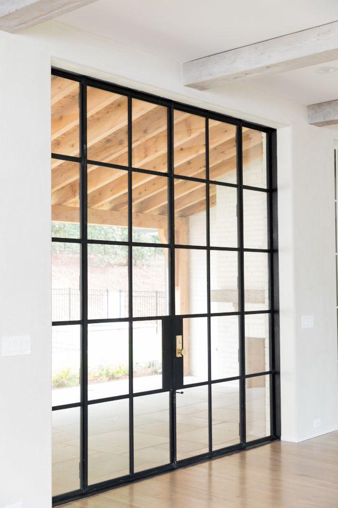 Black Metal Patio Door Modern English Farmhouse Home Bunch Interior Design Ideas Modern Patio Doors Doors Interior Modern English Farmhouse